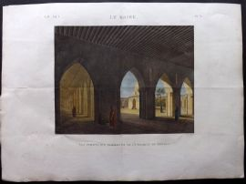 Description de l'Egypte C1820 HCol Print. Mosquee de Touloun. Cairo Egypt